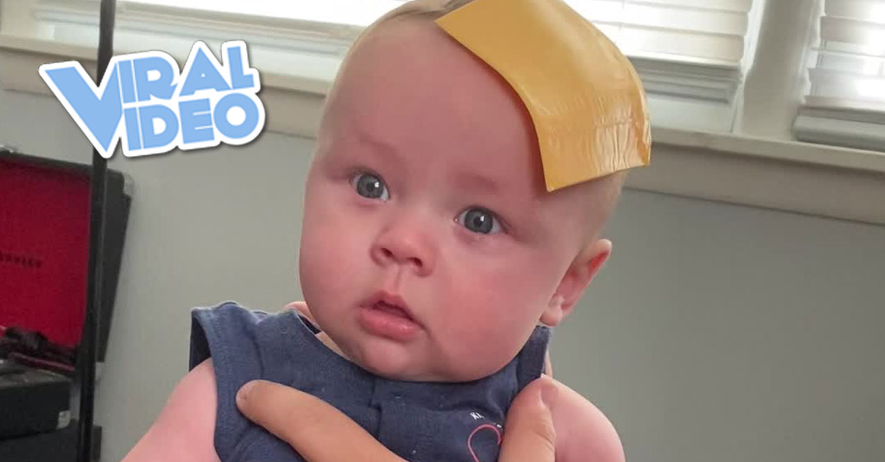 Viral Video: Cheese Slice Helps Baby Stop Crying